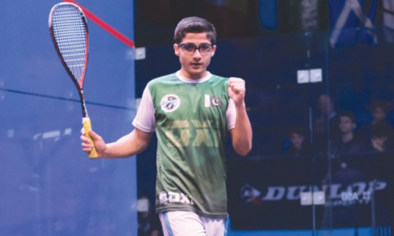 Hamza Khan U-15 British Junior Open Squash Champion