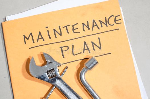 Maintenance, procedures, quality