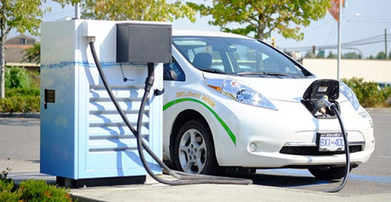 Electric vehicles recharging station