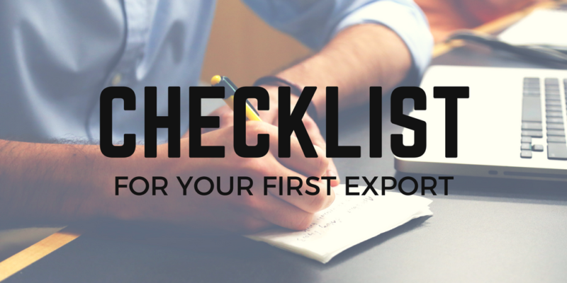 Check List - Exports